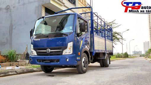 xe tải 3.5 tấn nissan xanh