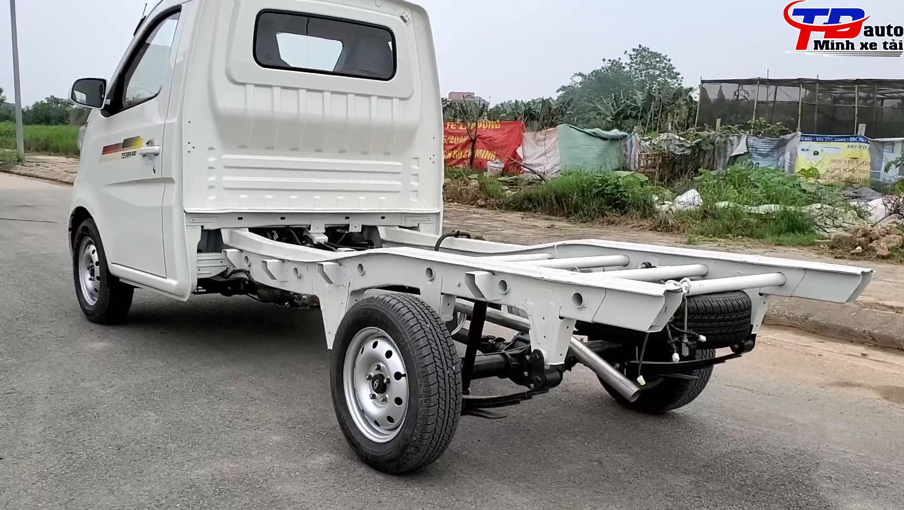 khung gầm xe tải tera 100
