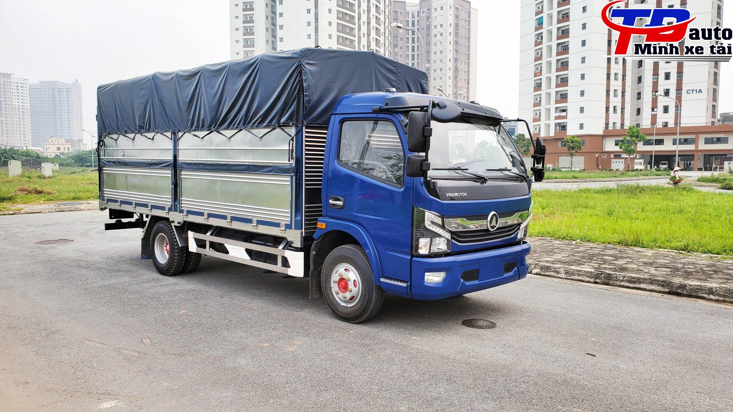 xe tải 5 tấn k6 xanh