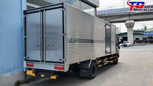 xe tải 190 sl thùng kín 6m
